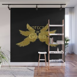 Protected by Gabriel Wall Mural