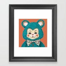 Bitsy the Bear Framed Art Print
