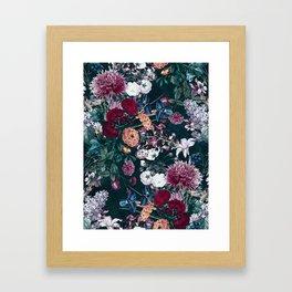 EXOTIC GARDEN - NIGHT XVIII Framed Art Print