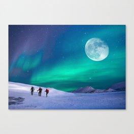 Night walkers Canvas Print
