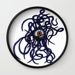 Evil Eye Halloween Creature Vector Wall Clock