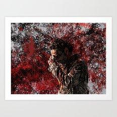 Walking Dead: Rick Art Print