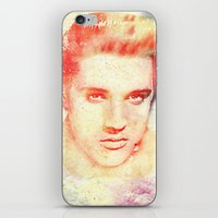 elvis iPhone & iPod Skins featuring ELVIS by MyimagesArt