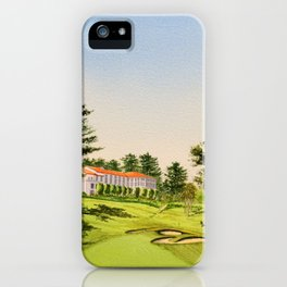 The Olympic Golf Course 18th Hole iPhone Case