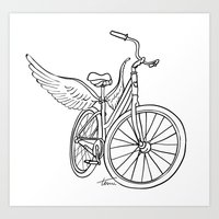 Dream Bike Art Print