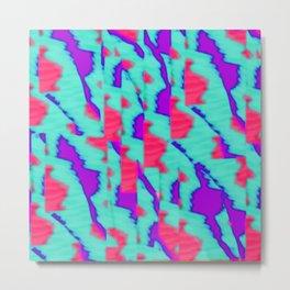 pattern funk colortheme 2 Metal Print