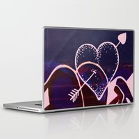 battlefield Laptop & iPad Skins featuring Love is a Battlefield... by Jennifer Trimble