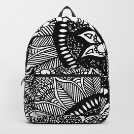 Mandala Doily Backpack