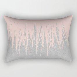 Concrete Fringe Dogwood Rectangular Pillow