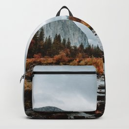 Autumn at Valley View - Yosemite Backpack