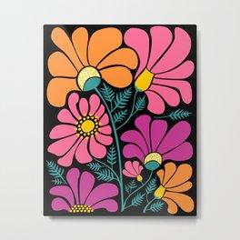 Wildflower Party Metal Print