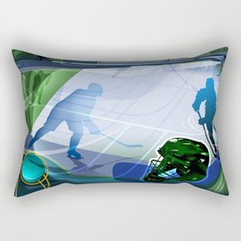 Hockey Rectangular Pillow