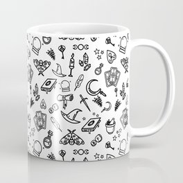 Modern Witch - White Coffee Mug
