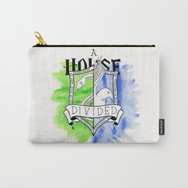 Wizard House Divided {Sly & Smart} Carry-All Pouch