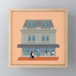 Scopa Pizza Restaurant, Wellington, NZ Framed Mini Art Print