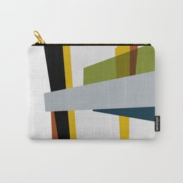 Mid Century Composition 3 Carry-All Pouch