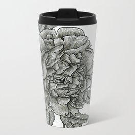 Peony Metal Travel Mug
