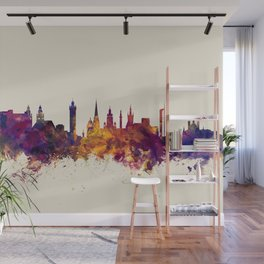 Glasgow Scotland Skyline Wall Mural
