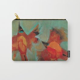 Waxwings Carry-All Pouch