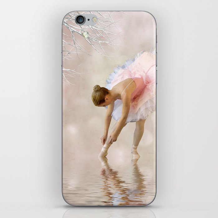 Dancer in Water iPhone Skin