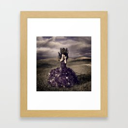 Attached to earth Framed Art Print