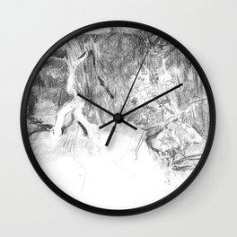 Seven Children Wall Clock