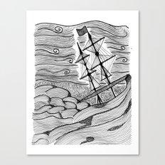 capsized Canvas Print