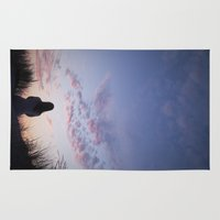 sunset Area & Throw Rugs featuring Sunset  by Maria Heyens