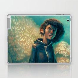The Girl in Black Laptop & iPad Skin