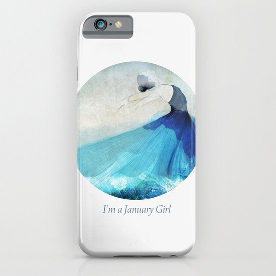I'm a January girl iPhone & iPod Case
