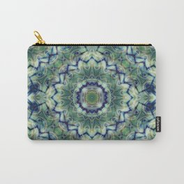 Nautical pattern with blue green tones Carry-All Pouch