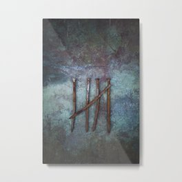 Five Nails Metal Print