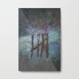 Five Nails Metal Print