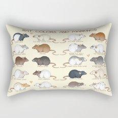 Rat colors and markings  Rectangular Pillow