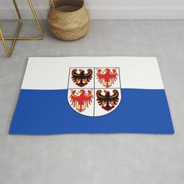 flag of Trentino Rug