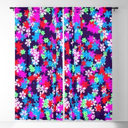 Flower Power Blackout Curtain