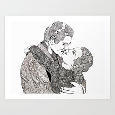 Gone With The Wind Elaboration Art Print