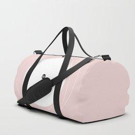 Minimalistic Pink Series II #minimal #minimalistic #kirovair #buyart #design Duffle Bag