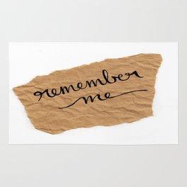 Remember me Rug