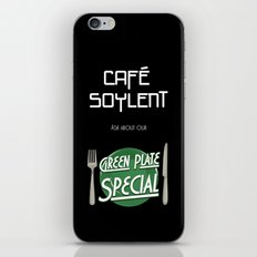 Soylent Cafe's Green Plate Special iPhone & iPod Skin