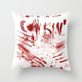 Love cooking Throw Pillow