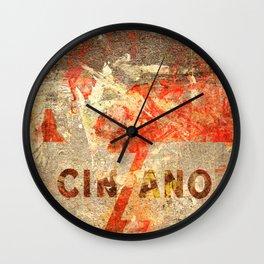 Cinzano - Vintage Vermouth Wall Clock
