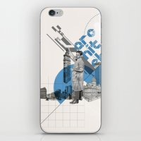 architect iPhone & iPod Skins featuring Architect by Kacper Kieć
