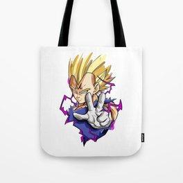 majin vegeta Tote Bag