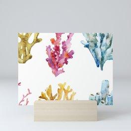 Colorful Chorals Mini Art Print