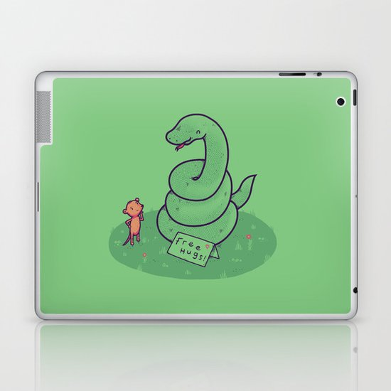 Free Hugs Laptop & iPad Skin
