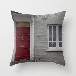 9 Bywater Street, Chelsea Throw Pillow