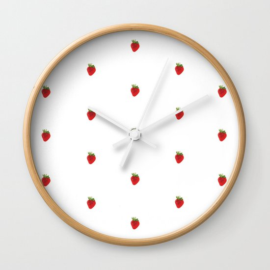 Earth Berry Wall Clock