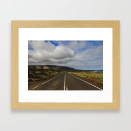 Route - Lanzarote Framed Art Print