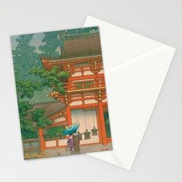 Kawase Yusui made Nara Kasuga Taisha Stationery Cards